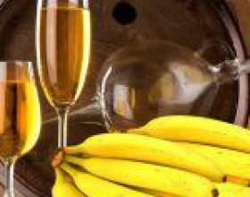 Бананове вино в домашніх умовах - рецепт екзотичного напою фото