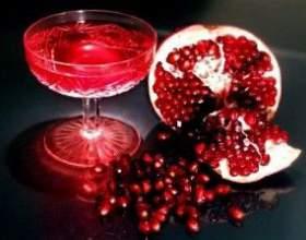 Безалкогольні коктейлі з гренадином фото