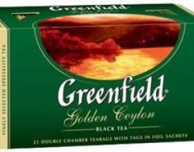 """Чай """"greenfield"""" - багатство кращих сортів фото"""