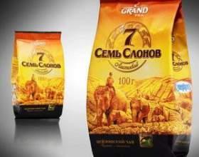 """Чай """"сім слонів"""" і інша продукція чайної компанії """"гранд"""" ( """"grand"""") фото"""