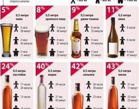 Через скільки вивітрюється алкоголь з організму людини фото