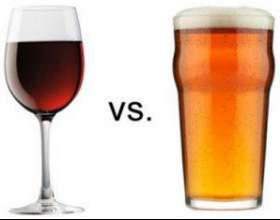 Що шкідливіше: пиво чи вино? фото