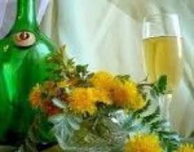 Домашнє вино з кульбаб фото