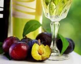 Домашнє вино із сливи. Рецепт фото