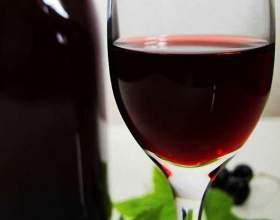 Домашнє вино з варення чорної смородини фото