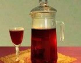 Домашнє вино з заграв варення або компоту фото