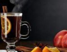 Домашні безалкогольні глінтвейни на основі соку фото