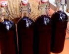Домашні лікери з ягід шовковиці (шовковиці) - 4 вдалих рецепта фото