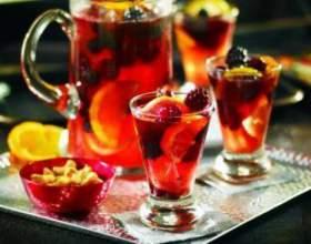 Домашній пунш - рецепт алкогольний і кілька безалкогольних фото