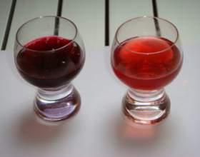 Домашня наливка з червоної і чорної смородини фото