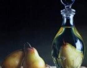 Два варіанти приготування лікеру з груші фото