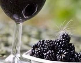 Ожиновому вино в домашніх умовах фото