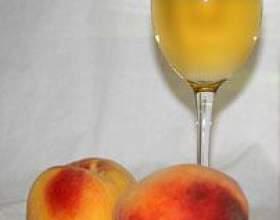 Готуємо персикове вино будинку фото