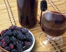 Готуємо вино з шовковиці в домашніх умовах фото