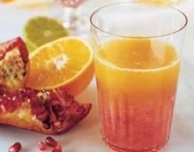 Гранатовий грейпфрутовий фреш фото