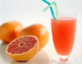 Грейпфрутовий сік - гіркуватий, але корисний фото