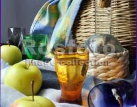 Яблучна наливка фото