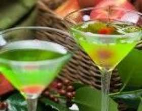 Яблучний мартіні - коктейль без вермуту фото