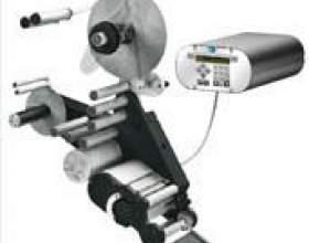 Етікетавтомат для нанесення термоусадочної етикетки фото