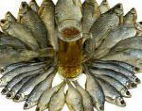 Як правильно вибрати рибу до пива фото