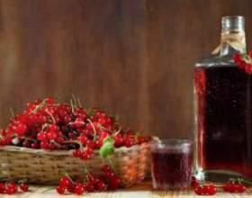 Як приготувати домашнє вино з червоної і чорної смородини фото