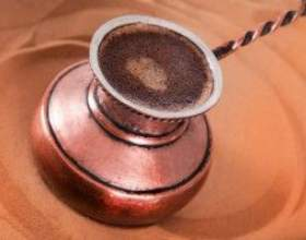 Як приготувати каву на піску фото