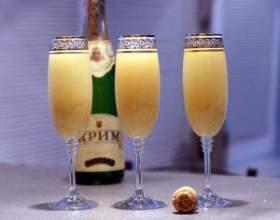 Як приготувати коктейлі з шампанським фото