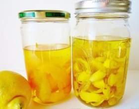Як приготувати лимонну горілку фото