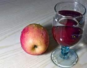 Як зробити домашнє вино з яблук фото