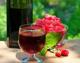 Як зробити домашнє вино з малини. Рецепт фото