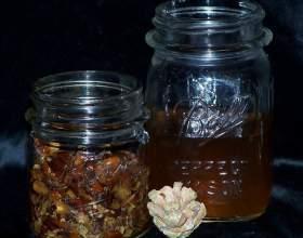 Як зробити горілку на кедрових горішках фото