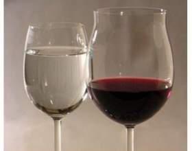 Як вино розбавити водою фото