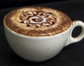 Кава еспресо і капучіно фото