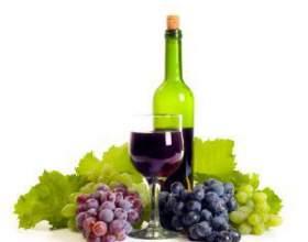 Коктейлі з червоного і білого вина фото
