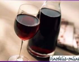 Червоне сухе вино фото