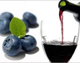 Лісове вино з чорниці в домашніх умовах фото