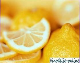 Лимонна наливка фото