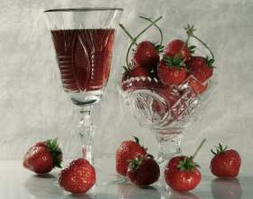 Краще вино з полуниці в домашніх умовах фото