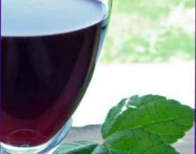 Малиново-порічкове вино фото