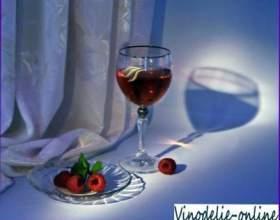 Малинове вино фото