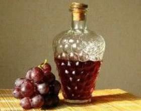 Наливка з винограду в домашніх умовах фото
