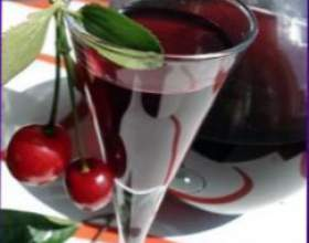 Наливка «українська» вишнева фото