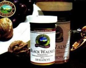 Настоянка чорного горіха фото