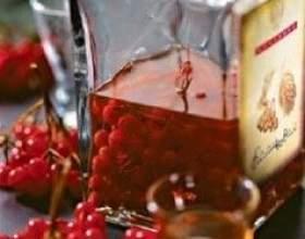 Настоянка калини: на горілці, спирті, властивості, рецепти фото