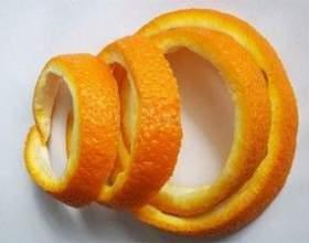 Настоянка на основі апельсинових кірок фото