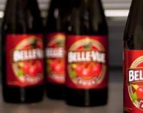 Незвичайне бельгійське вишневе пиво «kriek» фото