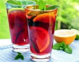 Незвичний напій - холодний чай фото