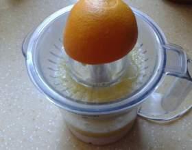 Кілька варіантів апельсинового соку з імбиром фото