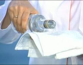 Обтирання горілкою при температурі фото