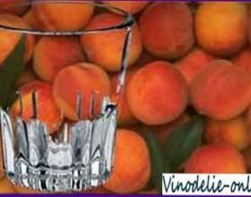 Персиковий самогон фото